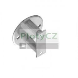 Boční kruhové kotvení zábradlí, D100/d42,4mm, nerezové AISI 304