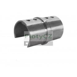 Nerezová spojka držák skla AISI 304,D42,4x1,5mm