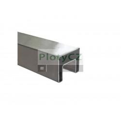 Nerez madlo, držák skla AISI304, 40x40/24x24mm, Umakov
