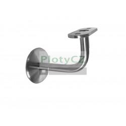 Nerezový držák pro ploché madlo AISI304, JP/M8mm