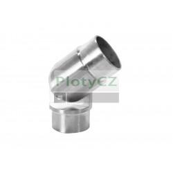 Koleno nerez nastavitelné pro spjení madel, AISI304, ±90°/D48,3mm
