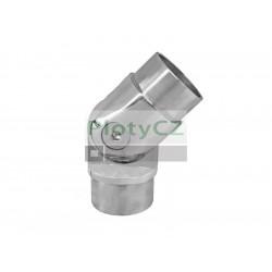 Nerezové lesklé kloubové koleno madla AISI316, 42,4x2,0