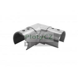 Koleno držák skla 90°, AISI 304,D42,4x1,5mm