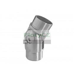 Nerezové kloubové koleno madla zábradlí ±90°, AISI304 D42,4x2mm