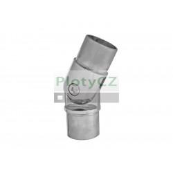 Nerezové nastavitelné koleno, spoj madla AISI304, ±90°/D4