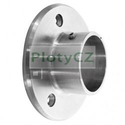 Nerez držák madla D42,4mm, příruba kotvění AISI304, D80/d42,4mm, Umakov
