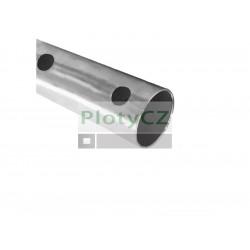 Nerezová trubka švů, broušená na schodišťová zábradlí AISI304, D42,4x2/15xd12mm, Umakov