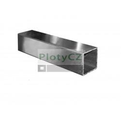 Nerezový profil jekl, broušený AISI304, JP40x40x2/L3000mm, Umakov