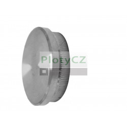 Nerezová, plochá zásleka madla AISI 304, D42,4x2mm