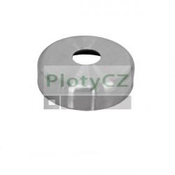 Rozeta kulatá, vrchní kotvení, AISI304, D45/d12mm