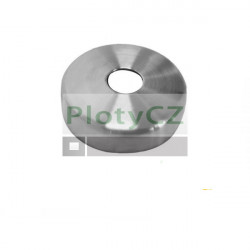 Rozeta AISI304, D45/d12mm