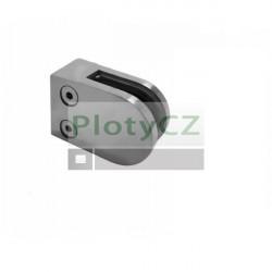 Držák skla nerezový, AISI304, 40x40x2/63x45mm