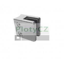 Držák výplně skla nerez,  AISI304, D42,4/45x45mm