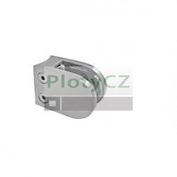 Držák výplně skla, nerezové zábradlí AISI304, D42,4x2, brus K320