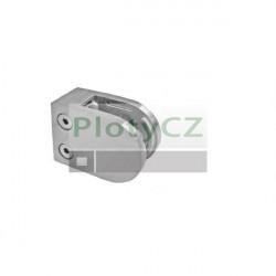 Držák skla, nerezový sloupek AISI304, 40x40x2, tloušťka skla 10-12,76