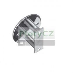 Boční kotvení kruhové, lesklé, D42,4, t6mm AISI304