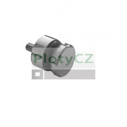 Držák skla kruhový AISI304, JP/T6-16/H15/M8mm