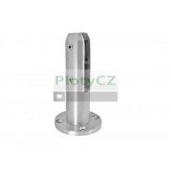 Sloupek pro výplň skleněnou, d49/D100/165mm, AISI304