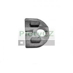 Těsnění na držák skla, pro sklo 8mm, T8/50x40mm