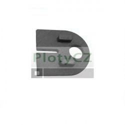 Těsnění do držáku skla 8mm, T8/63x45mm