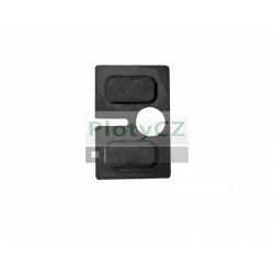 Těsnění do držáku skla 8mm, T8/45x45mm, A19/23-P08