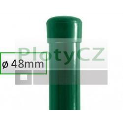 Plotový sloupek poplastovaný BPL zelený Ø 48mm