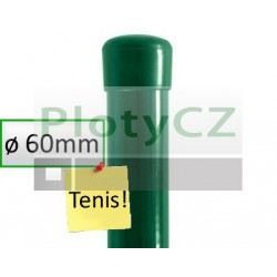 Plotový sloupek poplastovaný BPL zelený Ø 60mm