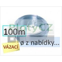 Vázací drát Zn 100m