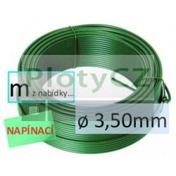 Napínací drát poplastovaný PVC ø 3,50mm