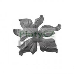 Květ akanty, list, lístek oplocení h140, b145