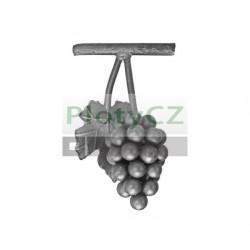 Hrozno, kovaná, ocel, h175, b100mm