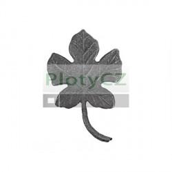 Lístek kovaný, květ, list, h135, b85