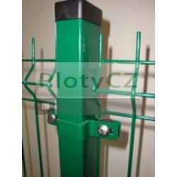 Plotový sloupek GALAXIA PVC poplastovaný 40x60mm, profil JAKL
