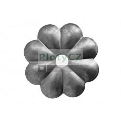 Ozdobná rozeta, květ D60, t2,5mm