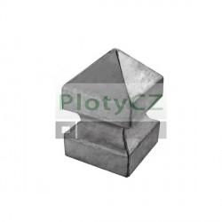 Krytka ozdobná na sloupek 100x100, h140, t2,5mm