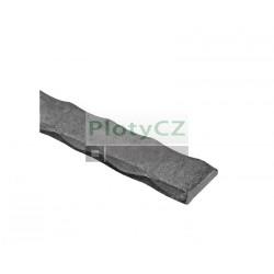 Pásovina ozdobná, a25, b5, L3000mm, (1,1 kg/m)