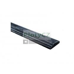 Ocelové madlo zdobené, voluta, pásovina 45x12mm, L3000mm, Umakov