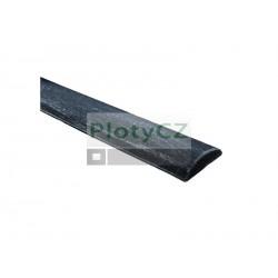 Ocelové madlo zdobené, kované ploty a40, b10, L3000mm, (2,37 kg/m), Umakov