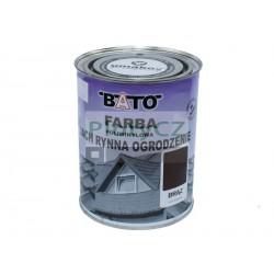 Hnědá barva na zinek-hladká satin 1kg (0,8