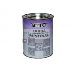Rustical černá barva, 1,0kg (0,8L)