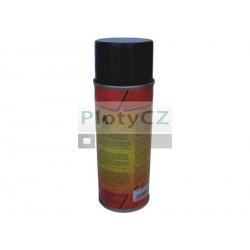 Černá barva ve spreji - matná RAL9005, 400ml
