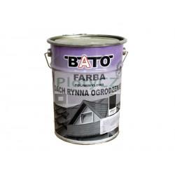 Barva na zinek-černá hladká satin, 6,3kg
