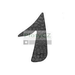 """Číslice """"1"""" h 120, t3mm"""
