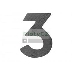 """Číslice """"3"""" h 120, t3mm"""