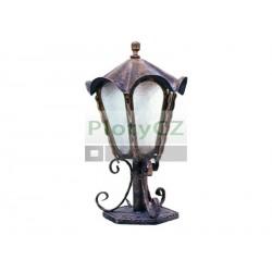 Lampa stojatá 460xD240mm, kovaná