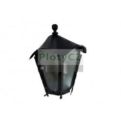 Závěsná lucerna 350x150mm, Fe, black