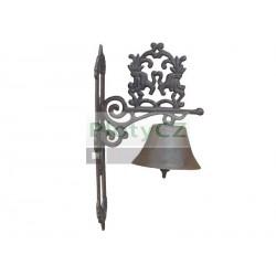 Kovaný zvonek 193x350x106mm