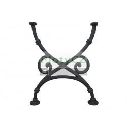 Rameno stolu 670x580mm, cast iron, černá
