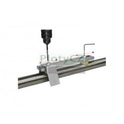 Přípravek na vrtání trubek, 42,4x2mm, AISI304/PVC