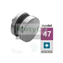 Úchyt skla D50/M10mm, AISI304, JP/T8-18/H10/M10mm